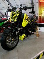 custom-honda-grom-msx125-yellow-lowered-stretched-wheels-cowl-motorcycle-bike-fairings-plastics-1