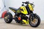 custom-honda-grom-msx125-yellow-lowered-stretched-wheels-cowl-motorcycle-bike-fairings-plastics-2