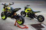 custom-honda-grom-msx125-yellow-lowered-stretched-wheels-cowl-motorcycle-bike-fairings-plastics-3