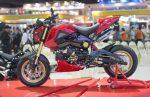 custom-honda-msx125-grom-red-cowl-gold-wheels-exhaust-motorcycle