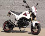 custom-white-honda-grom-msx125-retro-headlight-low-mount-exhaust