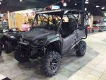 Black Honda Pioneer 1000-5 Taller Tires / Wheels - Custom UTV / Side by Side ATV / SxS / Utility Vehicle Pictures
