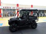"Black Honda Pioneer 1000 with 29.5"" Assassinator Tires / Wheels - Side by Side ATV / UTV / SxS / Utility Vehicle"