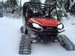 Honda Pioneer 1000-5 with Snow Tracks - Tires / Wheels - Custom UTV / Side by Side ATV / SxS / Utility Vehicle Pictures