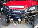 Honda Pioneer 1000-5 LED Light Bar & Winch - Custom UTV / Side by Side ATV / SxS / Utility Vehicle Pictures
