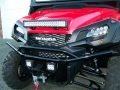Honda Pioneer 1000-5 LED Light Bar & Winch - Custom UTV / Side by Side ATV / SxS / Utility Vehicle Pictures