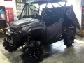 Custom Honda Pioneer 1000 Lifted Mud Tires & Wheels - Side by Side ATV / UTV / SxS / Utility Vehicle Pictures