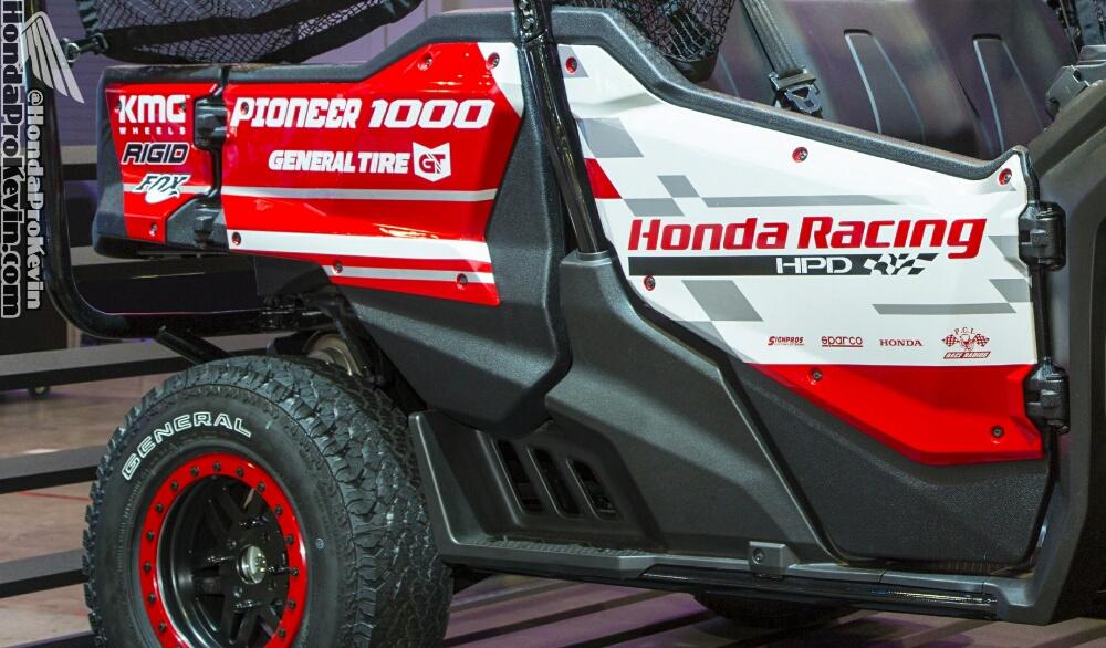 Custom 2016 Honda Pioneer 1000 Baja Sema 2015 Honda