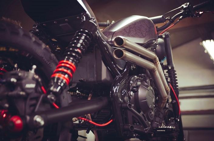 Custom 2017 Honda Rebel 500 & 300 Motorcycle Build Pictures