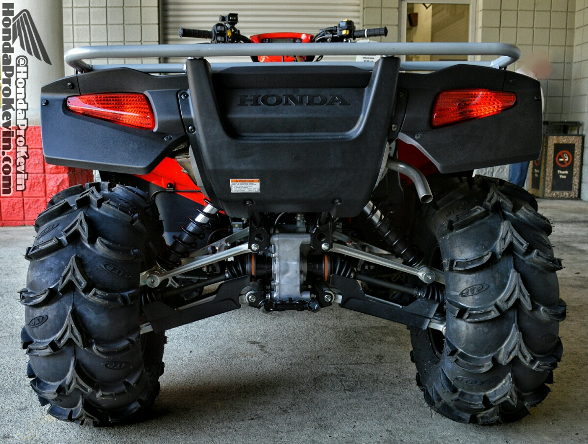 New Honda Rincon 700 ATV + Mud Tires / ITP Wheels and more!
