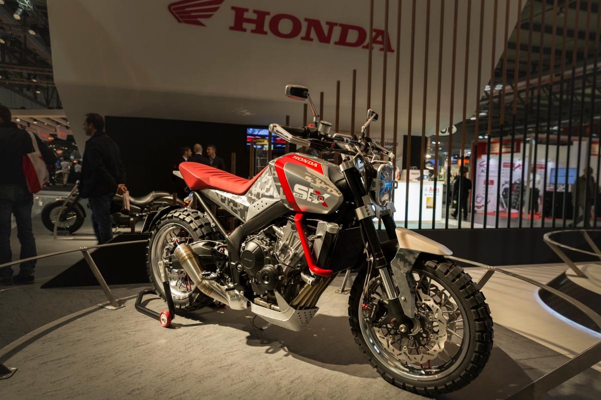 Honda Cbsix50 Concept Scrambler Dual Sport Motorcycle