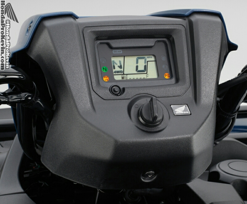 2016 Honda Foreman 500 ATV Gauges / Meter - Review / Specs / Price / HP & TQ Performance Rating