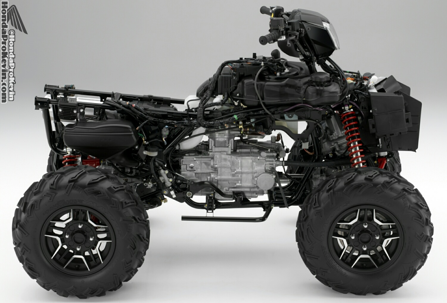 2016 Honda Rubicon 500 ATV Frame / Engine - Review / Specs / Price / HP & TQ Performance Rating
