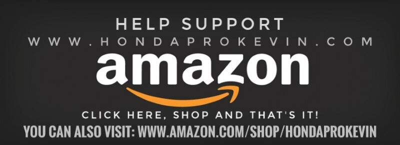 Support HondaPro Kevin Blog | Amazon