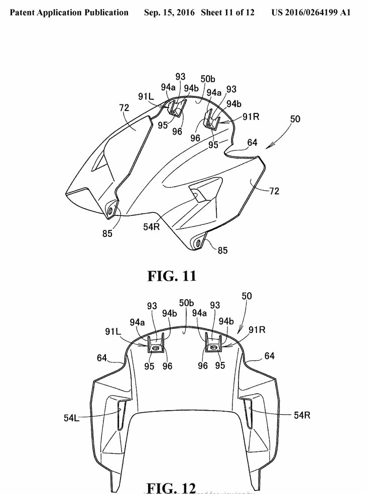 New 2018 Honda Gold Wing Patents Show Huge Changes In The Works