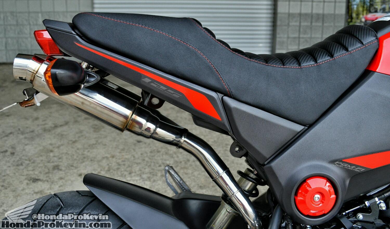 Custom Honda Grom / MSX Dual Exhaust Review - WirusWin Atomic Twin Muffler
