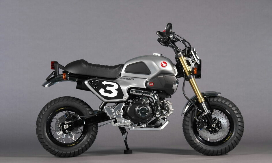Custom Honda Grom Scrambler Concept One Two Motorcycle Pictures Pro Kevin