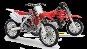 Honda CRF Dirt Bikes / Motorcycles - Reviews & Specs