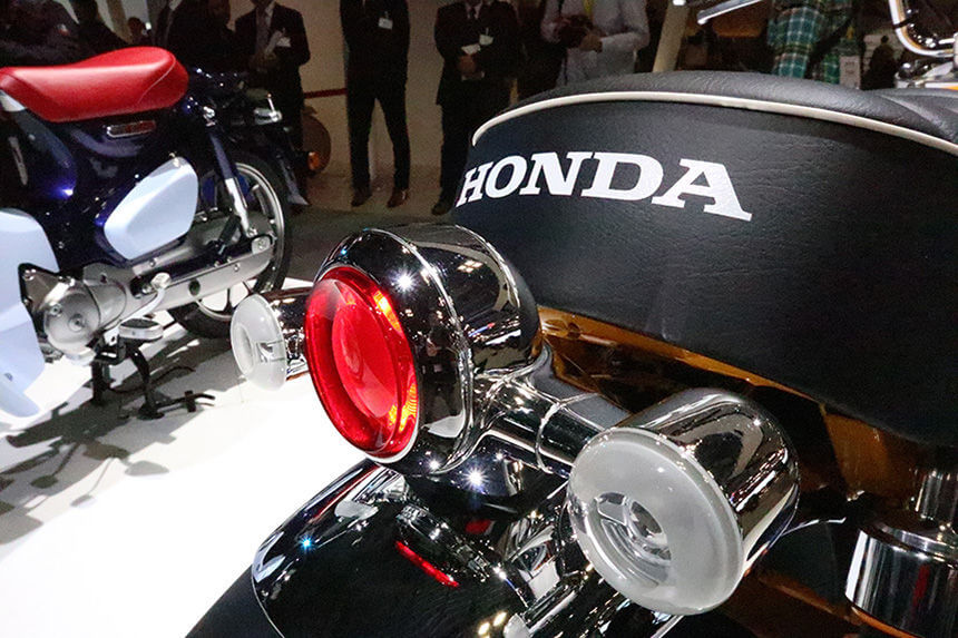 2019 Honda Monkey 125 Concept Motorcycle Joining Grom in ...