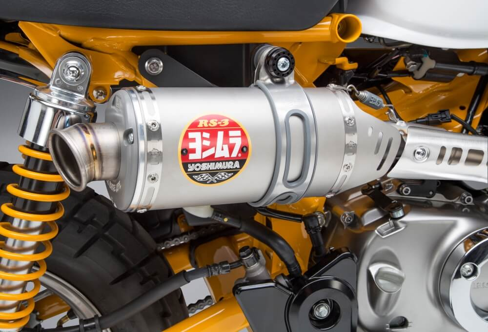 2019 Honda Monkey 125 Exhaust Review: Yoshimura RS-3 Full Race System HP & TQ Performance Increase