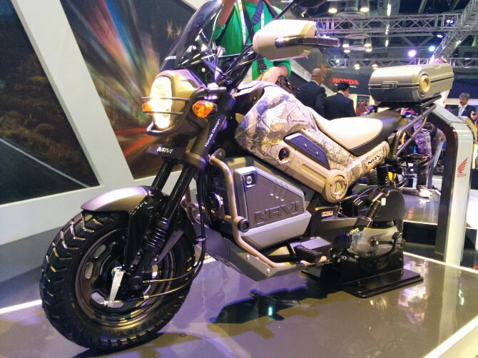 New 2016 Honda NAVI Grom Motorcycle Review / Specs - Bike / Scooter 110 cc