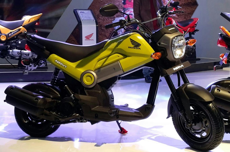 Honda Grom Review >> New 2016 Honda Grom = NAVI with 110cc Scooter Engine ...