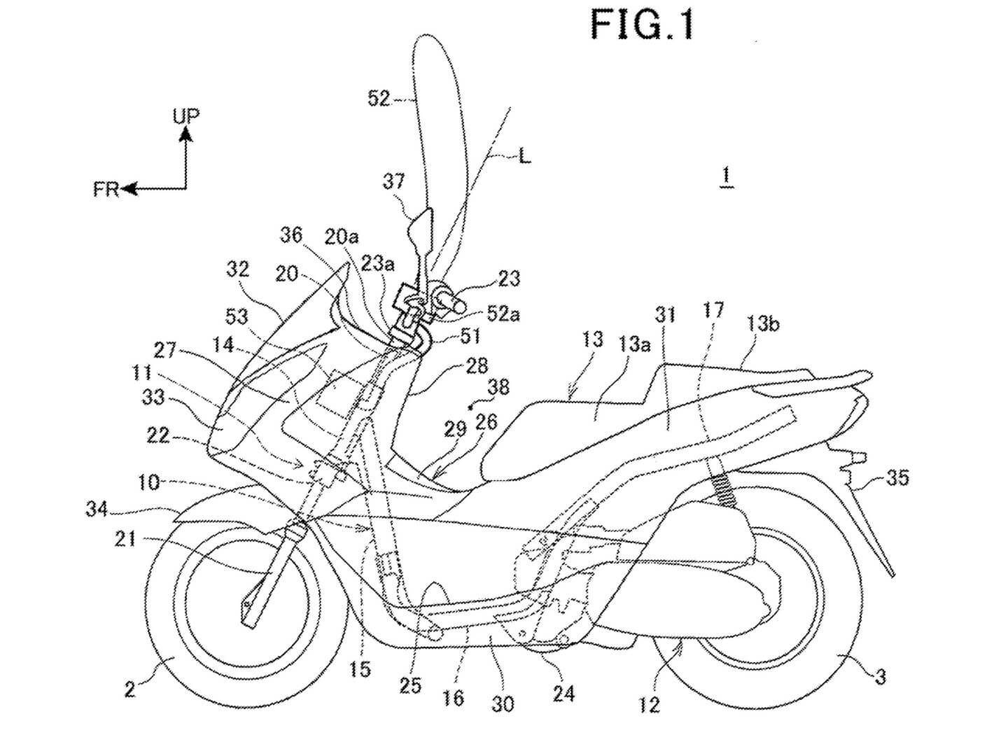 New 2023 Honda Motorcycle / Scooter Airbag Models Releasing Soon? New Patent Documents Filed...