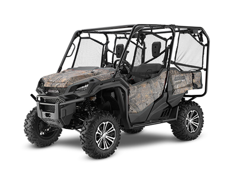 Honda Pioneer 1000-5 Deluxe Camo Review / Specs - Side by Side ATV / UTV / SxS / 4x4 Utility Vehicle SXS10M5