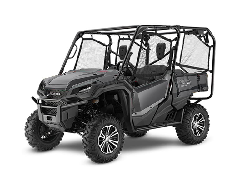 Honda Pioneer 1000-5 Deluxe Silver Review / Specs - Side by Side ATV / UTV / SxS / 4x4 Utility Vehicle SXS10M5
