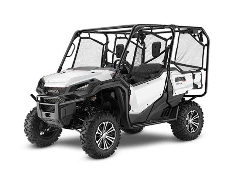 Honda Pioneer 1000-5 Deluxe White Review / Specs - Side by Side ATV / UTV / SxS / 4x4 Utility Vehicle SXS10M5