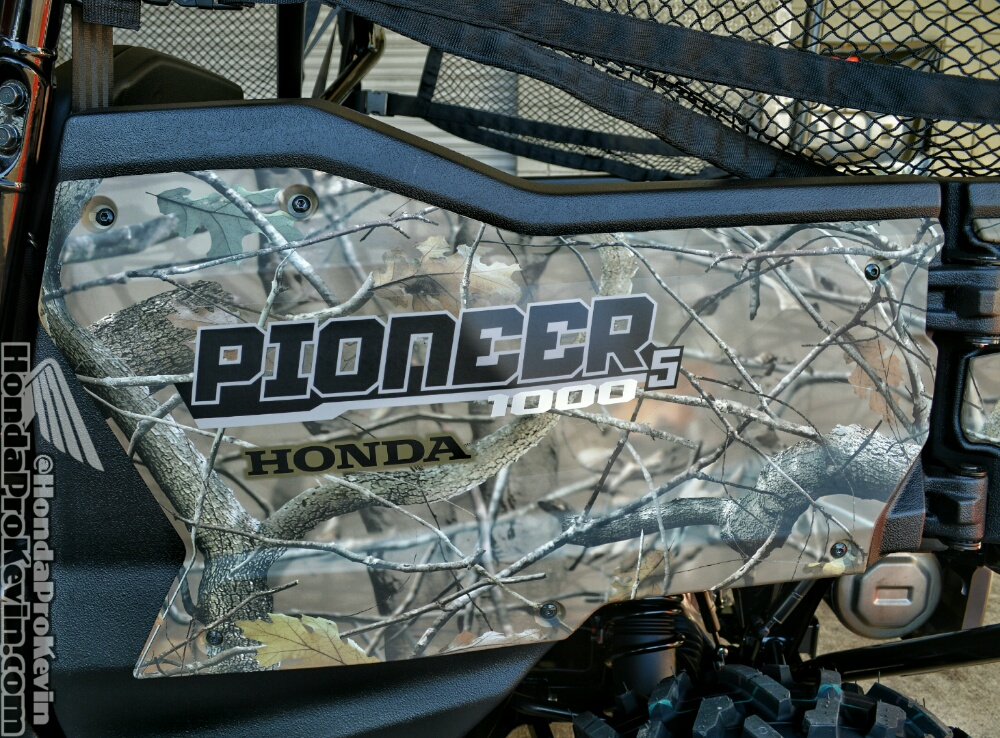 2017 Honda Pioneer 1000-5 Deluxe Camo Review / Specs - Side by Side ATV / UTV / SxS / Utility Vehicle - HP Performance Info