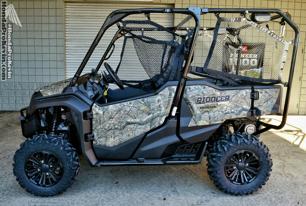 2016 Honda Pioneer 1000-5 Deluxe Camo Review / Specs - Side by Side ATV / UTV / SxS / Utility Vehicle - HP Performance Info