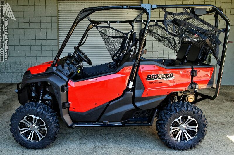 2016 Honda Pioneer 1000-5 Deluxe Review / Specs - Side by Side ATV / UTV / SxS / 4x4 Utility Vehicle SXS10M5D