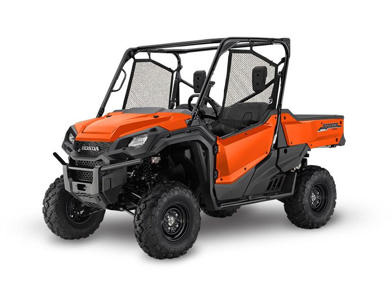 Honda Pioneer 1000 EPS Orange Review / Specs / Pictures - Side by Side ATV / UTV / SxS / 4x4 Utility Vehicle - SXS10M3