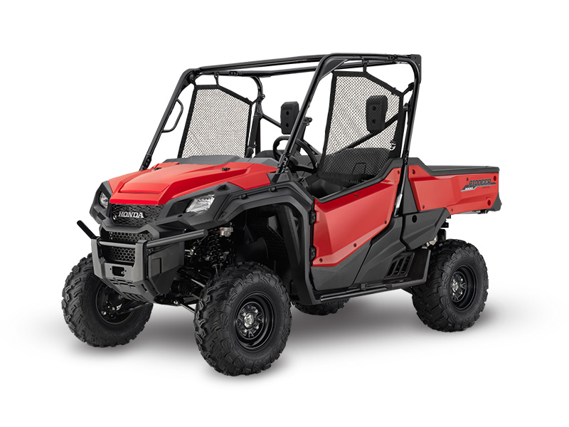 Honda Pioneer 1000 EPS Red Review / Specs / Pictures - Side by Side ATV / UTV / SxS / 4x4 Utility Vehicle - SXS10M3