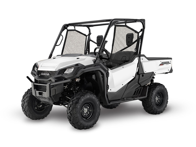Honda Pioneer 1000 EPS White Review / Specs / Pictures - Side by Side ATV / UTV / SxS / 4x4 Utility Vehicle - SXS10M3