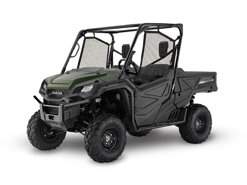 Honda Pioneer 1000 Green Review / Specs / Pictures - Side by Side ATV / UTV / SxS / 4x4 Utility Vehicle - SXS10M3