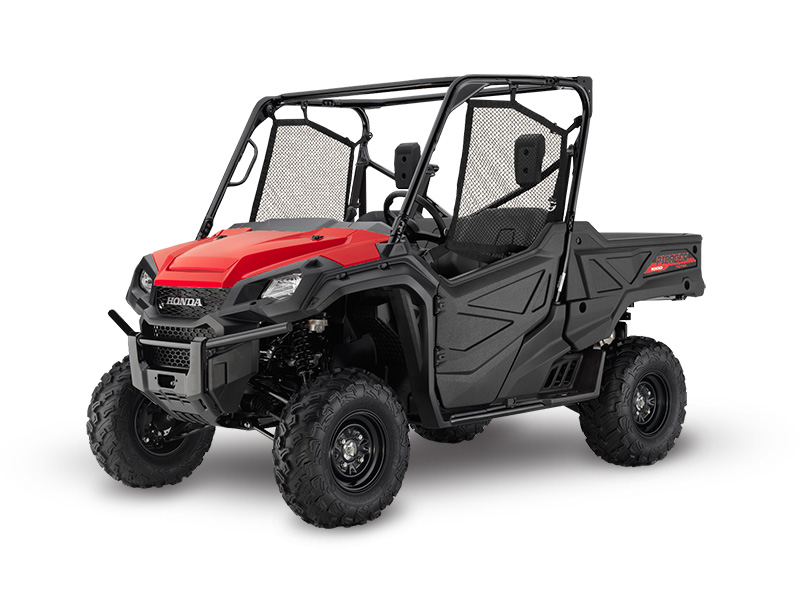 Honda Pioneer 1000 Red Review / Specs / Pictures - Side by Side ATV / UTV / SxS / 4x4 Utility Vehicle - SXS10M3