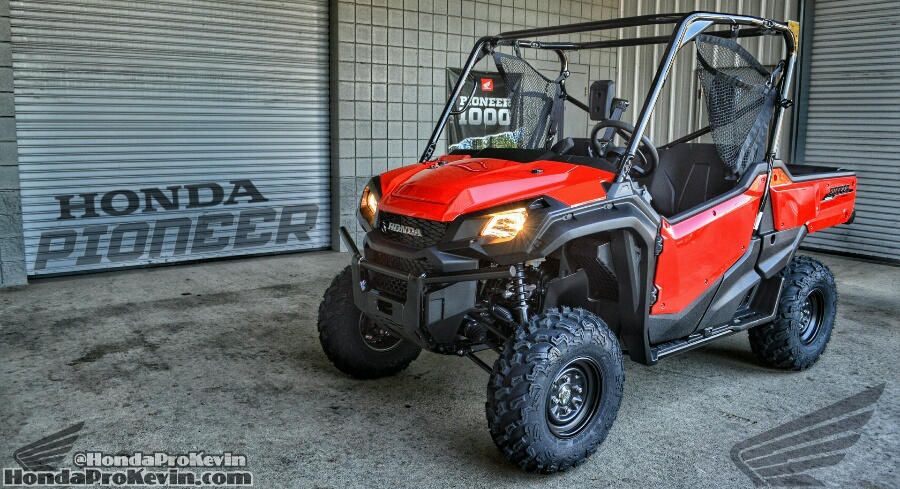2018 Pioneer 1000 EPS Review of Specs - ATV / Side by Side / UTV / SxS / Utility Vehicle 4x4 SXS10M3P