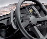 Honda Pioneer 500 Paddle Shifters & Steering Wheel / Interior | Review: Side by Side / UTV / SxS / ATV - 50 inch wide 2-seater