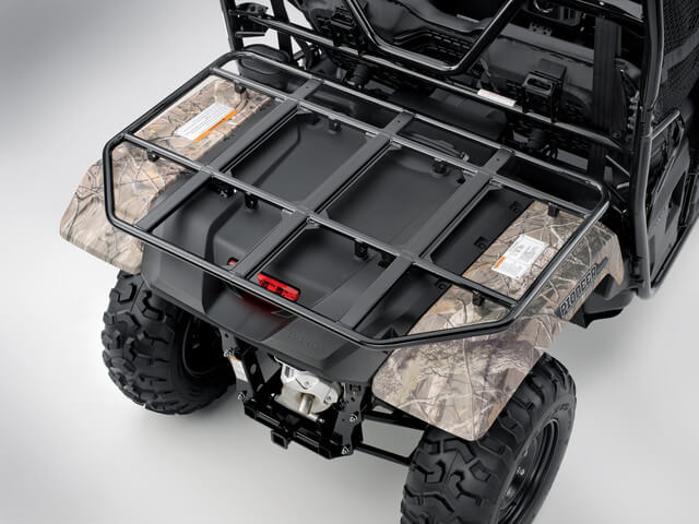 2019 Honda Pioneer 500 Cargo Rack / Storage | Review: Side by Side / UTV / SxS / ATV - 50 inch wide 2-seater