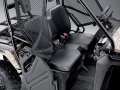 Honda Pioneer 500 Interior | Review: Side by Side / UTV / SxS / ATV - 50 inch wide 2-seater