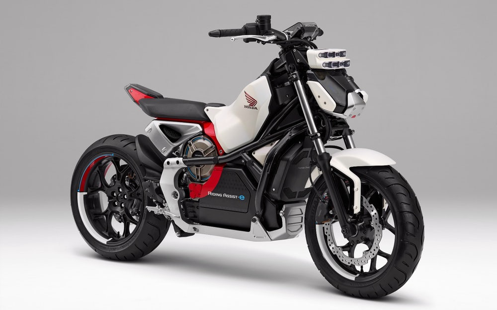 2019 Honda Motorcycles / Riding Assist-e Electric Self-Balancing Bike