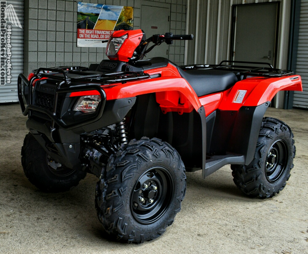 2017 Honda Rubicon TRX500 ATV Review / Specs - FourTrax 500 Utility 4x4 Four Wheeler - TRX 500 HP & TQ