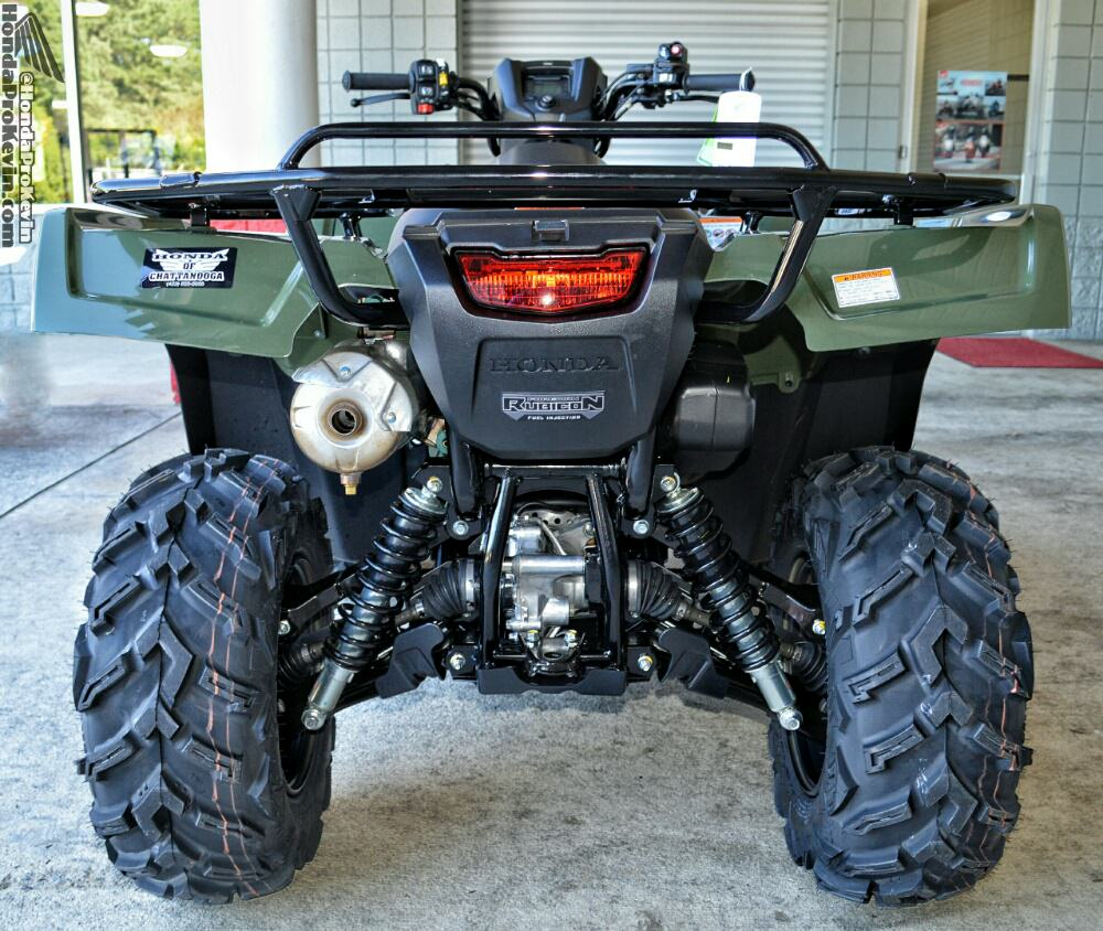 2018 Honda Rubicon DCT IRS ATV Review / Specs - FourTrax 500 Utility 4x4 Four Wheeler - TRX 500 HP & TQ - TRX500FA5 / TRX500FA6