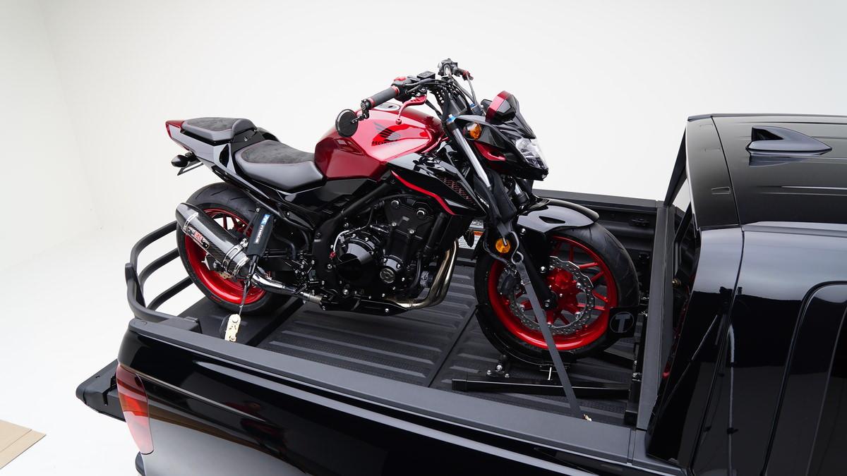 Custom Honda CB500F Naked CBR Sport Bike + RidgeLine Truck ...