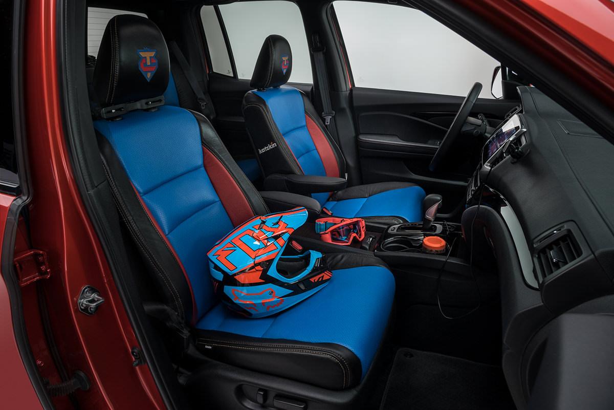 Custom 2017 Honda Ridgeline Truck - 2017 Honda TRX250X Sport / Race ATV - TJIN SEMA 2016