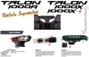 Honda Talon 1000 Air Particle Separator - 0SB01-HL6-A00