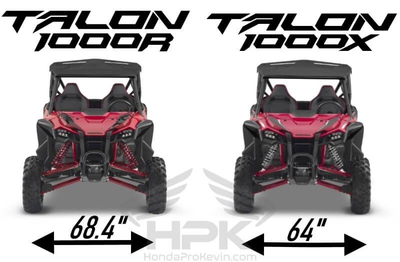 Honda TALON 1000 R VS X Differences / Comparison Review of Specs | TALON 1000 Sport SxS / UTV / Side by Side ATV