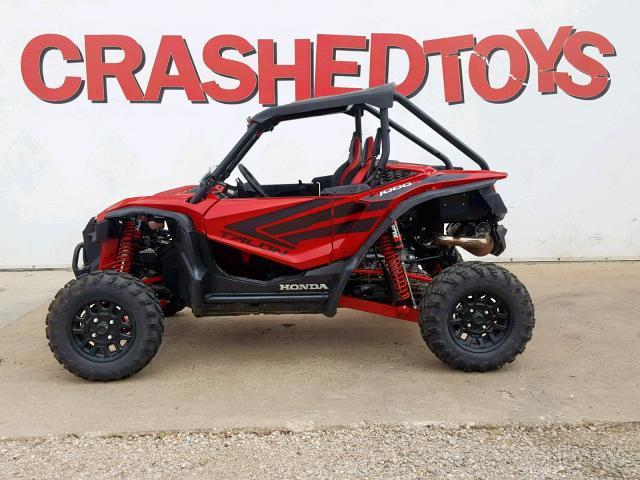 Wrecked Honda TALON 1000 R / 1000R Sport Side by Side - SxS - UTV